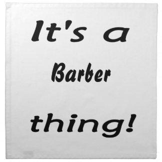 ¡Es una cosa del peluquero Servilletas Imprimidas
