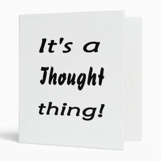 """¡Es una cosa del pensamiento! Carpeta 1"""""""