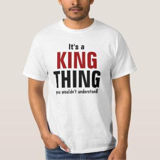 Es una cosa del rey que usted no entendería polera