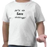 ¡Es una cosa del sass! Camisetas
