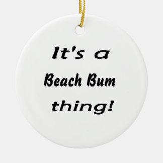 ¡Es una cosa del vago de la playa Ornamentos Para Reyes Magos