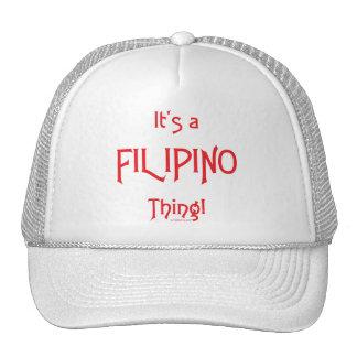 ¡Es una cosa filipina! Gorra