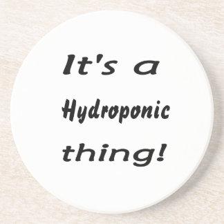 ¡Es una cosa hidropónica! Posavasos Personalizados