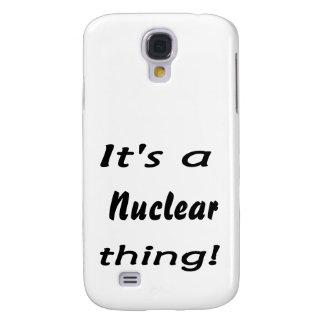 es una cosa nuclear