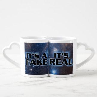 """¡""""Es una falsificación! Es"""" sistema real de la Taza Amorosa"""