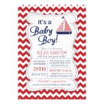 Es una fiesta de bienvenida al bebé náutica del ve comunicado personalizado