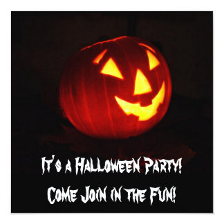 Es una invitación del fiesta de Halloween