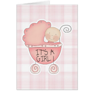 Es una tarjeta de la enhorabuena del chica
