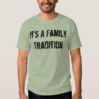Es una tradición de la familia poleras