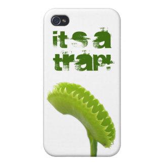 ¡Es una trampa! iPhone 4/4S Carcasas
