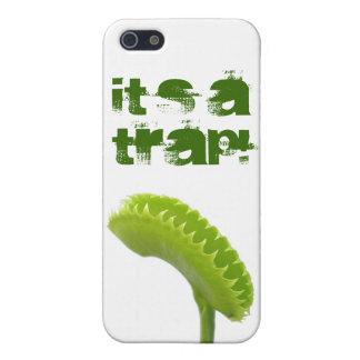 ¡Es una trampa! iPhone 5 Protectores