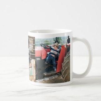 Es una vida agrícola taza de café