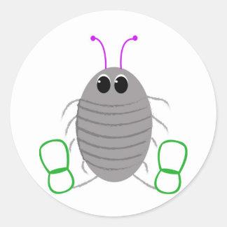 Es una vida de los insectos - fastidiando pegatina redonda