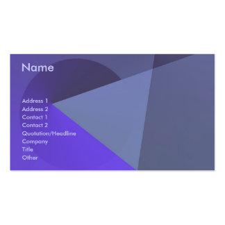 Es usted… (6) tarjetas de visita