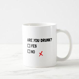 Es usted bebido taza clásica