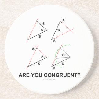 ¿Es usted congruente? (Ángulos congruentes) Posavasos Diseño