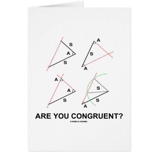 ¿Es usted congruente? (Ángulos congruentes) Felicitaciones