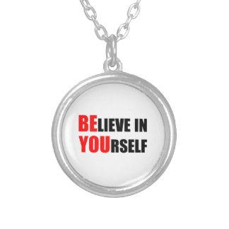 Es usted. Crea en sí mismo Pendientes