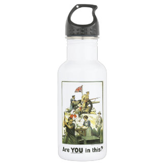 """""""Es usted en esto?"""" 1915, museo imperial de la Botella De Agua"""