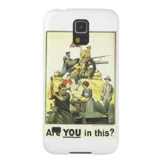 """""""Es usted en esto?"""" 1915, museo imperial de la Fundas Para Galaxy S5"""