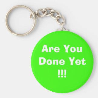 ¡Es usted hecho todavía!!! Llavero Redondo Tipo Pin
