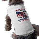 Es usted ofendió camiseta de mascota
