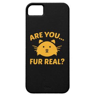 ¿Es usted piel real? iPhone 5 Funda