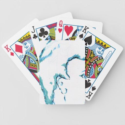 Es usted que piensa en mí baraja de cartas