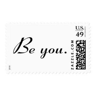 Es usted sello postal