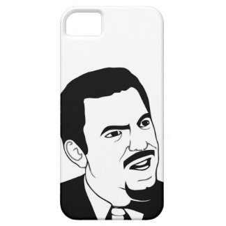 Es usted serio iPhone 5 carcasas