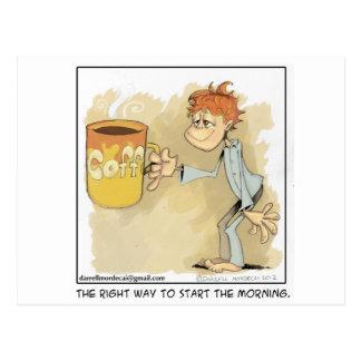 ¿es usted un adicto al café? postales