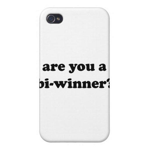 ¿Es usted un BI-Ganador? iPhone 4 Fundas