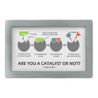 ¿Es usted un catalizador o no? (Sustrato enzimátic Hebillas De Cinturon Rectangulares