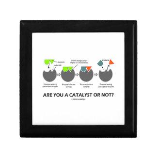 ¿Es usted un catalizador o no? (Sustrato enzimátic Cajas De Recuerdo