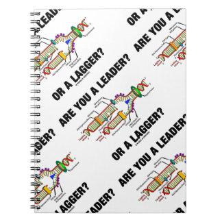 ¿Es usted un líder? ¿O un Lagger? Humor de la DNA Libro De Apuntes