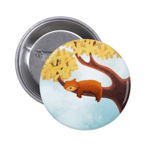 ¿Es usted un oso soñoliento? botón Pins