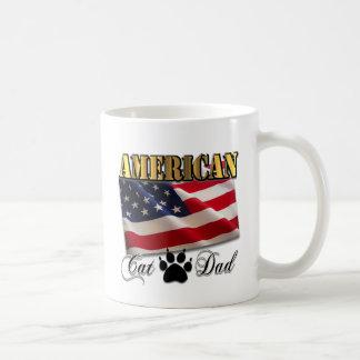 ¿Es usted un papá americano del gato? Taza