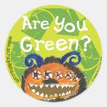 ¿Es usted verde? Etiqueta