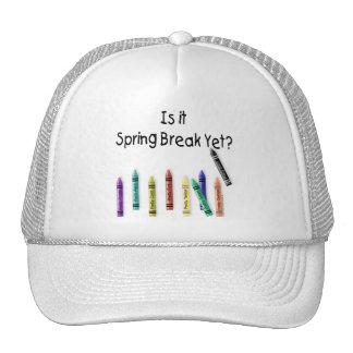 ¿Es vacaciones de primavera todavía? Gorras De Camionero