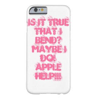 ¿ES VERDAD QUE DOBLO? Cubierta de Iphone 6 Funda De iPhone 6 Barely There