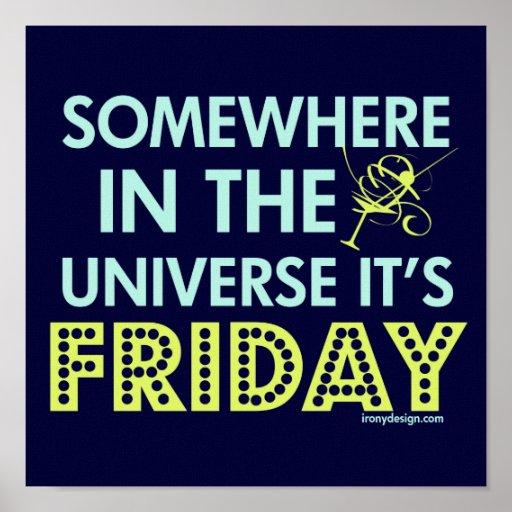 ¡Es viernes en alguna parte! Póster