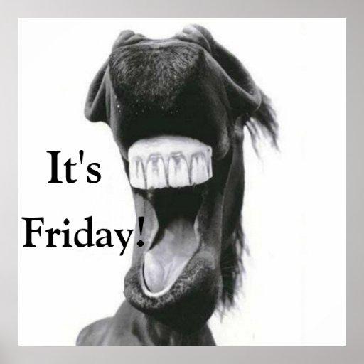 ¡Es viernes! Posters