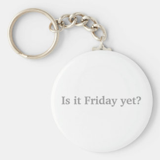 ¿Es viernes todavía? Llavero Redondo Tipo Pin