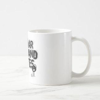 es war die hand gottes coffee mug