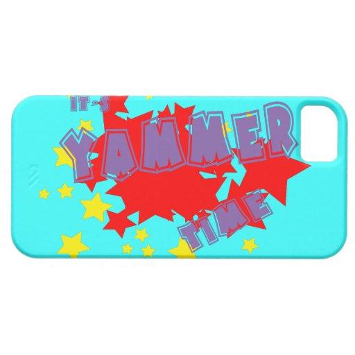 Es Yammer tiempo iPhone 5 Case-Mate Fundas