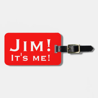¡Es yo! Etiquetas personalizadas del equipaje Etiqueta De Maleta