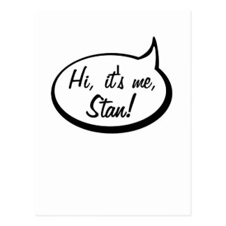 Es yo, Stan Postales