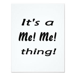 ¡Es yo! ¡Yo! cosa Invitación 10,8 X 13,9 Cm