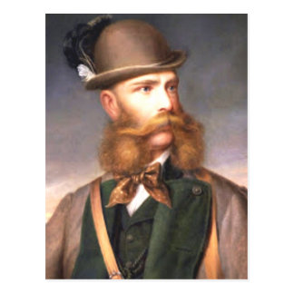Esa barba fabulosa tarjeta postal