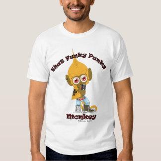Esa camiseta enrrollada del mono del Punky Remera